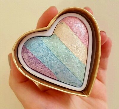 9ea28562cbc4 I HEART MAKEUP Unicorn Hearts Highlight Highlighter Rainbow New Genuine SALE