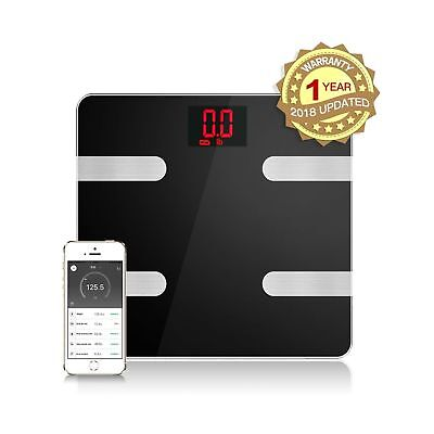 Smart Bluetooth Digital Scale Body Composition Monitor Analyzer Body Fat Scale