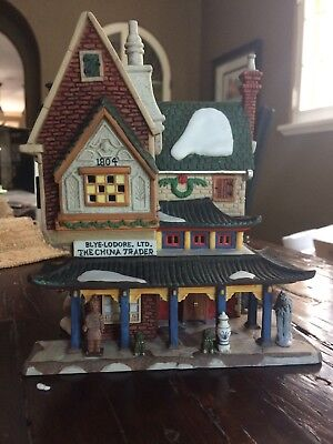 """Department 56 Dickens' Village """"The China Trader"""""""