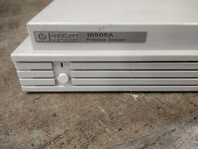 HP 16505A protoype Analyzer used