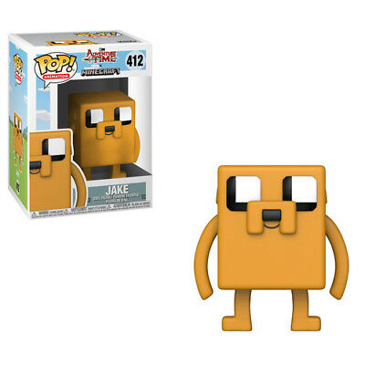 Adventure Time / Minecraft - Jake - Funko Pop! Television: (2018, Toy NEUF)