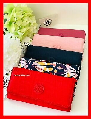 Kipling Teddi Wallet Organizer Trifold MORE COLORS & PATTERNS U PICK AUTHENTIC