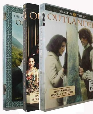 Outlander: Complete Series Seasons 1, 2 & 3 DVD Bundle Brand New