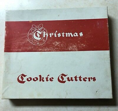 Vintage Christmas Cookie Cutters (10 In Set) By Educational Products Company