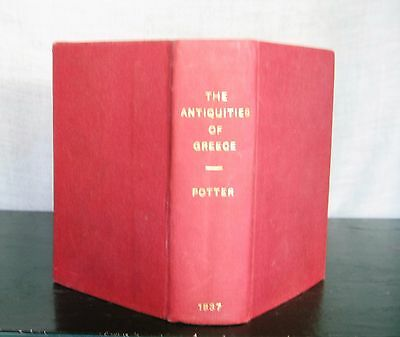 Archaeologia Graeca, or the Antiquities of Greece - Potter - 1887 HC