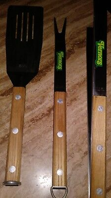 VINTAGE VERNORS GINGER ALE pop Detroit kitchen utensils BBQ tools Rare.made usa.
