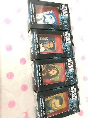 Disney Star Wars Rogue One Pin Lot Reveal Conceal.