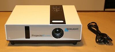 Boxlight ProjectoWrite II 3LCD Projector 1479 Hours on the Lamp. Power Cord only
