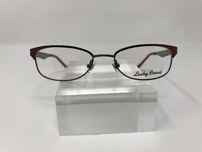 734c0cd7de79 LUCKY BRAND EYEGLASSES VALENCIA Brown 48MM -  70.00