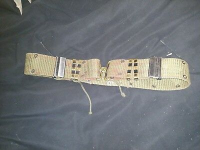 Vintage US Army Military Pistol Belt Surplus
