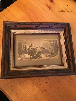 Vintage Wood Wooden Antique Picture Photo Frame