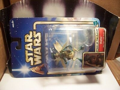 STAR WARS...WATTO....ATTACK OF THE CLONES....NIB...on flying stand......motion c
