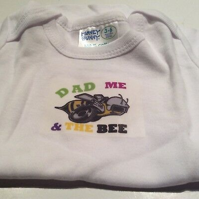 Plymouth Superbee Baby'S One Piece Domed Romper 3-6 Month Pair