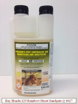 Superway Pidgeon's Pest Controller 500 Termiticide & Insecticide 1 Litre