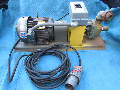 Burks ES9M Turbine Pump with Baldor 5hp Motor Assembly