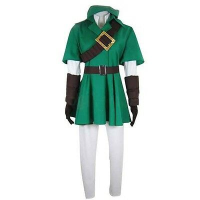 Link Cosplay Costume - The Legend of Zelda Cosplay Link Costume Halloween Cospla