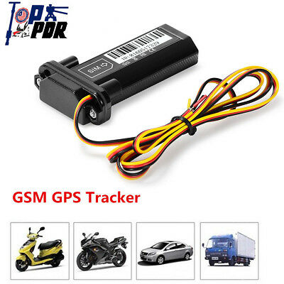 GSM GPS Locator Tracker Car Vehicle Motorcycle Realtime Alarming Tracking Device