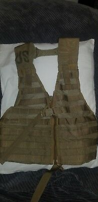 FLC Fighting Load Carrier Tactical Vest Coyote US Military MOLLE USMC ARMY