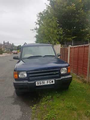 Landrover Discovery 2 V8 Lpg For Spares Or Repair 2001 With Long Mot