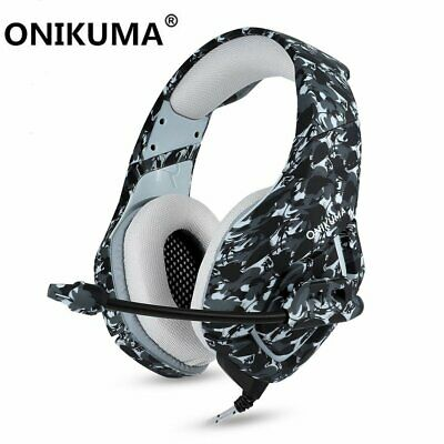 ONIKUMA K1 3.5mm Mic Gaming Headset Headphone Stereo For PC Laptop PS4 Xbox One