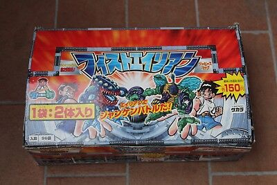 Box Fistful of Alien, Exogini 3° Terza Serie, Japanese Rare NEW 96 Pack Series 2