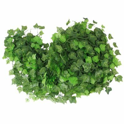 12 x Ivy Vine Decoration Artificial Plants - Leaf Sweet Potato N3G4