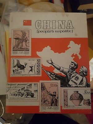 Seven Seas Stamps CHINA ( peoples Republic) Stamp album 98% Complete