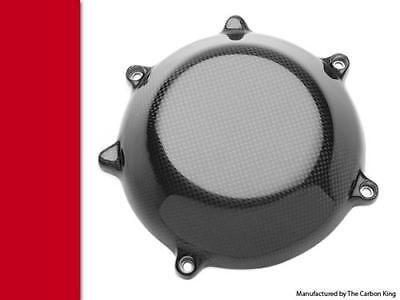 Ducati Closed Carbon Fibre Clutch Cover Fits Most Dry Clutches In Plain Weave