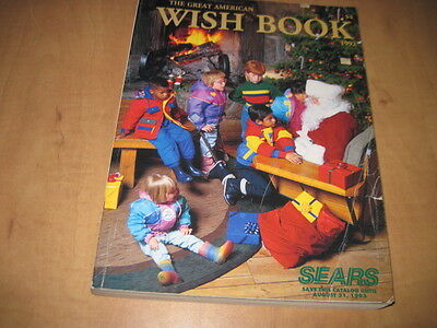 Vintage Sears 1992 Christmas Catalog Great American Wish Book