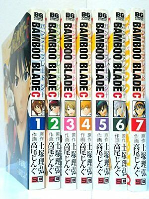 BAMBOO BLADE C comic 1-7 vol complete set anime japanese manga
