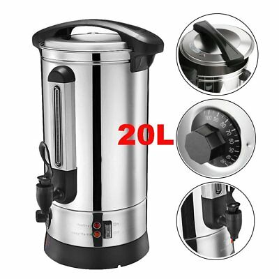NEW Electrical 20L Commercial Catering Kitchen Hot Water Boiler Tea Urn Coffee