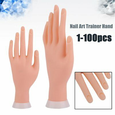 Adjustable Practice Nail Art Trainer Model Hand Tool Wholesale for Salon Beauty