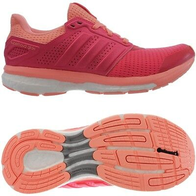 quality design b0c86 67c06 Adidas Supernova Glide 8 W Techfit Boost red Women s running shoes trainers  NEW
