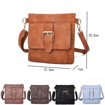 Womens Designer Style Cross Body Bag Ladies Tote Shoulder Handbag