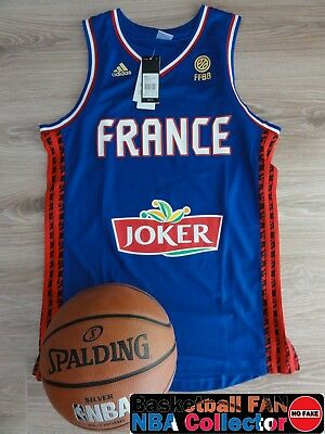 Maillot / Jersey NBA Adidas Replica Tony Parker France Size M