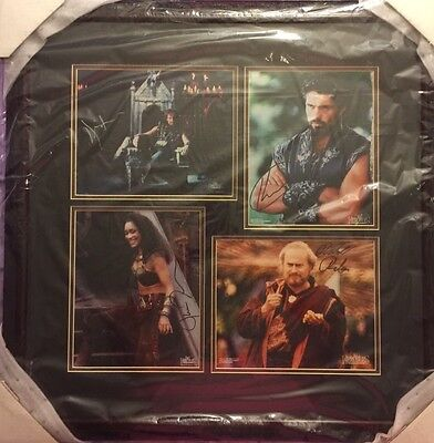 Hercules One Of A Kind Framed Autograph Photos From Creation Entertainment