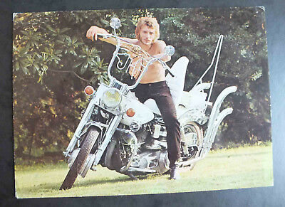 Cpm - Johnny Halliday Sur Harley Davidson - Lyna 2001 *