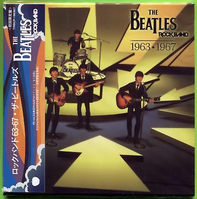 The Beatles ROCKBAND 1963-1967 Remastered mini LP CD w/OBI Strip