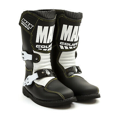 Wulfsport Max Equipe Kids Boot Motocross MX Enduro Pitbike Dirtbike Quad Bike
