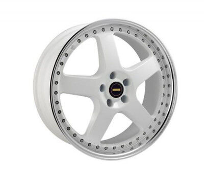 HONDA S2000 WHEELS PACKAGE: 20x8.5 20x9.5 Simmons FR-1 White and Comforser Tyres
