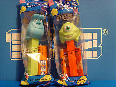 Pez Monsters Inc Mike and Sully MIB Monster's