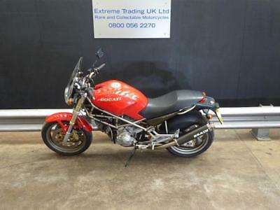 Ducati Monster M900 great condition with low mileage and extras