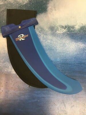 Windsurf Fin Rushwind Free ride 32cm Power Box Clearout Boardwise