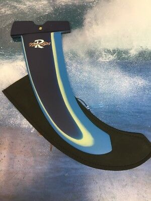 Windsurf Fin Rushwind Free ride 32cm Power Box £39 Clearout Boardwise