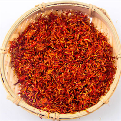 Tibet Dry Safflower Natural Pure Spice Kasubha Health Herbal  Chinese Tea 10g