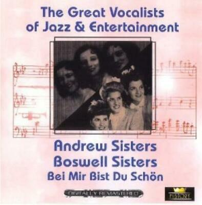 The Great Vocalists : Andrew Sisters Boswell S. CD