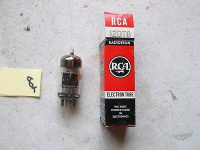 New In Box Rca Electron Tube 12Dt8 (195-1)