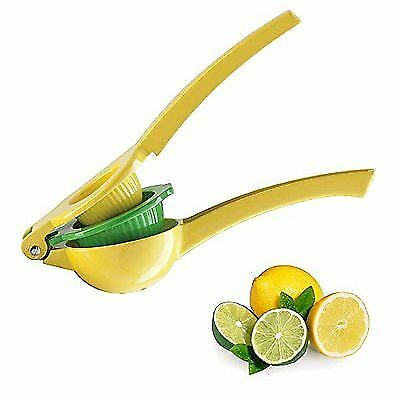 Lemon Lime Squeezer Metal Manual Juicer Hand Kitchen Citrus Press Tool Bartender