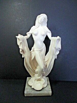 "1989 Sculpture Made in Italy ""The Shapes of Spirit"" Marble Base 12 1/2"" Tall"