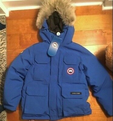 Canada Goose Boys Youth Expedition Parka size Medium $745